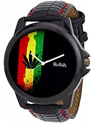 Relish Black Collection Analog Watches For Men - RELISH-501