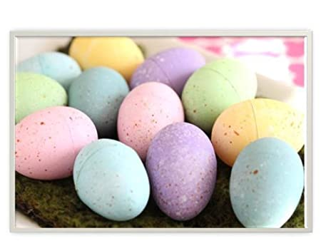 Easter Egg Shaped Sidewalk Chalk, 6 piece (Pack of 2) by Party America (English Manual)