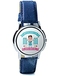 BigOwl Mom For All Your Love Analog Men's Wrist Watch 2239214526-RS1-W-BLU