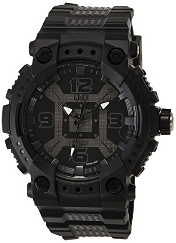 Q&Q Regular Analog Black Dial Men's Watch - VQ92J002Y