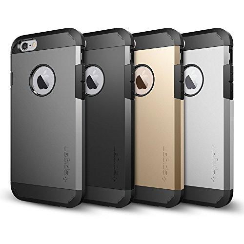 iPhone 6 ケース Spigen [エアクッションテクノロジー] Apple iPhone 4.7 (2014) タフ・アーマー (国内正規品) (シャンパン・ゴールド 【SGP10970】)
