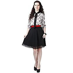 Eavan Women's Casual Wear Dainty Polyester Dress