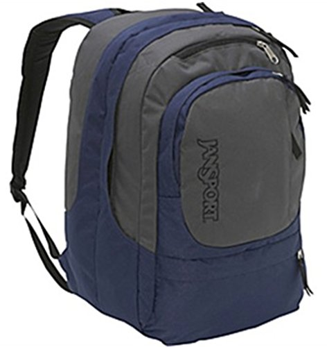 JanSport Air Cure Backpack (Navy/Forgegrey)