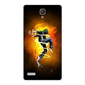 AJAYENTERPRISES The Dance Boy Back Case Cover for Redmi Note 4