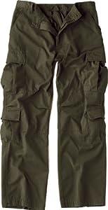 2786 Olive Drab Vintage Paratrooper Fatigues (Large)