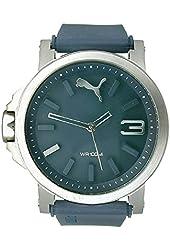 PUMA Unisex PU103462004 Ultrasize LDS Analog Display Quartz Blue Watch