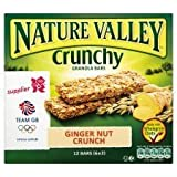 Nature Valley Crunchy Granola Bars Ginger Nut Crunch 6 X 42G