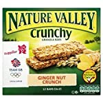 Nature Valley Crunchy Nut Granola Bar Ginger Crunch 6 X 42G