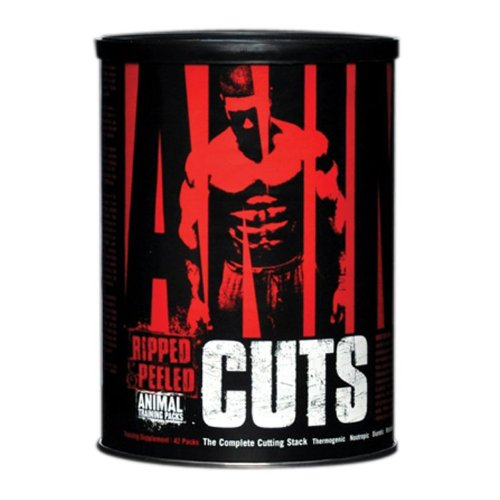 Universal Animal Cuts, Ripped and Peeled Animal Training Pack, Sports Nutrition Supplement, 42 Servings