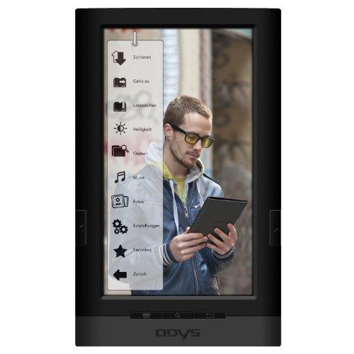 Odys X600004 7 inch LED E-Book Reader (Mini USB 2.0 Port, 4GB Internal Memory, Micro SD-Slot, G-Sensor, DRM)