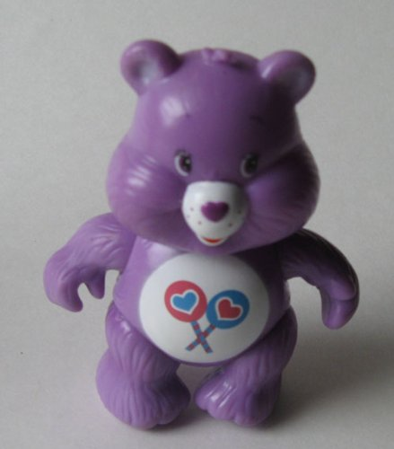 "Care Bear Share Bear 3.25"" Posable Figure - 1"