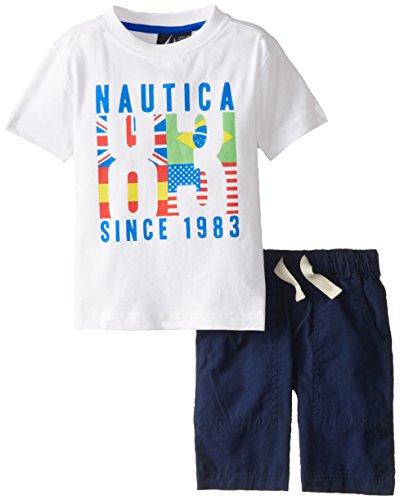 Nautica 诺帝卡 男童短袖套装