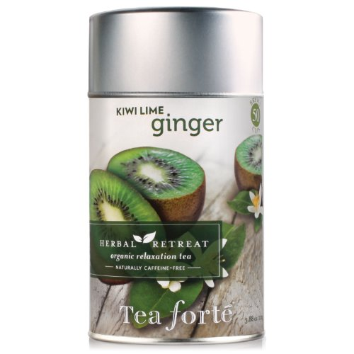 Tea Forte Loose Leaf Tea Canister - Kiwi Lime Ginger
