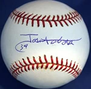 Buy Jose Tabata Autographed Hand Signed Official Major League Baseball by Hall of Fame Memorabilia