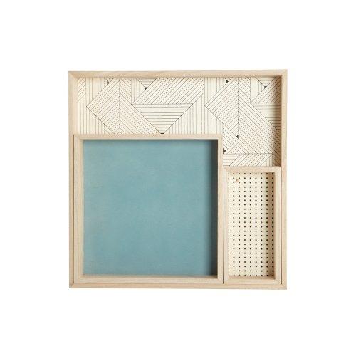 House Doctor Tablett Holz 3er Set Deco Su0225