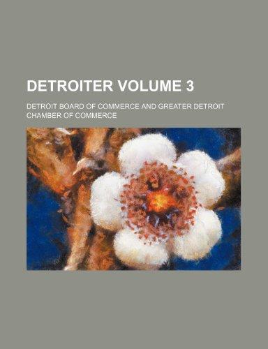Detroiter Volume 3