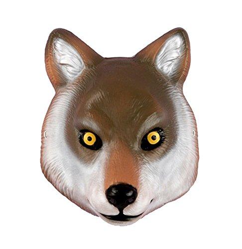 Deluxe Kids Wolf Mask