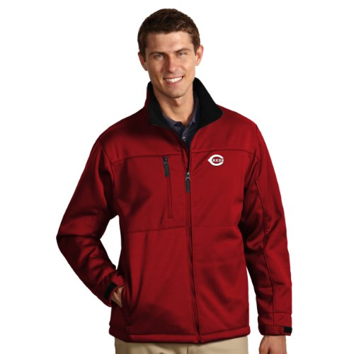 MLB Cincinnati Reds Men's Traverse Jacket, Dark Red, X-Large at Amazon.com
