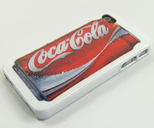 Soda in Can Design Plastic Hardshell Back Case Cover for iPhone 4 / iPhone 4s