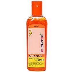 Alentaz Orange Face Wash With Scrub
