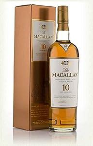 MACALLAN 10 Year Old Sherry Oak Speyside Malt Whisky 70cl Bottle