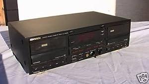 KENWOOD KX-W6030 STEREO DOUBLE CASSETTE DECK