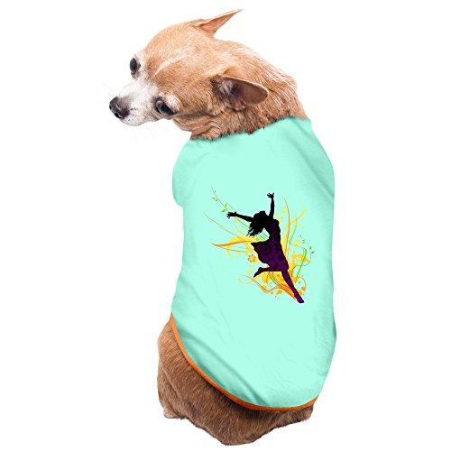 [Aip-Yep Slim Fit Dancer Poster Pet Dog Pets Costumes SkyBlue Size S] (Elvis Presley Dog Costumes)