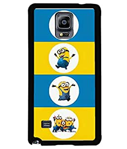 printtech Minions Back Case Cover for Samsung Galaxy Note 4 N910::Samsung Galaxy Note 4 Duos N9100