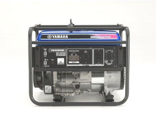 Yamaha YG4000D 4,000 Watt 251cc OHV 4-Stroke Gas Powered Portable Generator (CARB Compliant)