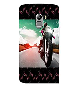 PrintDhaba Bike D-6040 Back Case Cover for LENOVO K4 NOTE A7010a48 (Multi-Coloured)