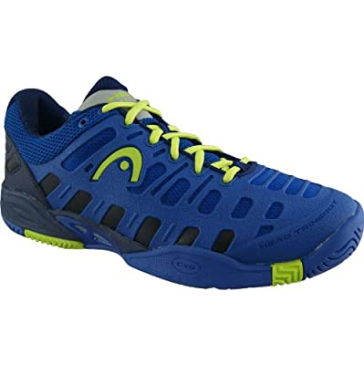 Head Men`s Speed Pro Lite Tennis Shoes Blue/Lime 12 Blue