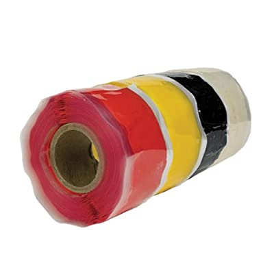 "Rescue Tape Self-Fusing Silicone Tape, 1"" x 12' x 20mil, Rectangular from Harbor Products"