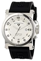 Swiss Legend Men's 40030-02S Sportiva Silver Textured Dial Black Silicone Watch from Swiss Legend