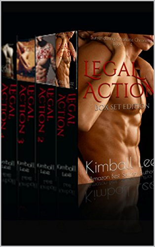 Legal Action - Box Set Books 1-4: Erotic Romance Series (Surrendering Charlotte Chronicles)