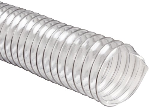 "Flexadux R-2 Pvc Duct Hose, Clear, 2"" Id, 0.020"" Wall, 25' Length"