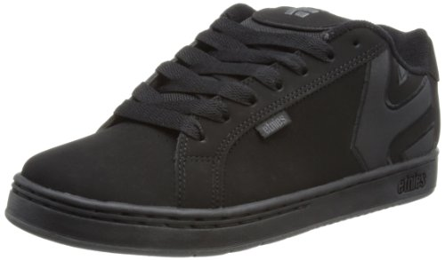 Etnies Mens Fader LS Shoes Footwear,Black Dirty Wash,12