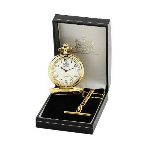 Gold Plated Quartz Movement Pocket Watch