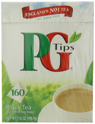 PG Tips, Pyramid Tea Bag, 160-Count Boxes (Pack