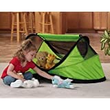 Kidco Peapod Travel Bed in Lime