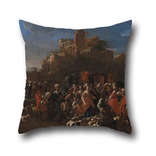 oil-painting-la-curea-cure-con-corte-regale-throw-pillow-covers-20-x-20-inches-50-by-50-cm-for-divan