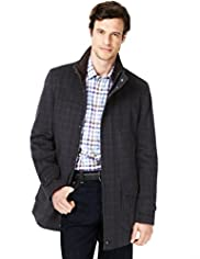 Blue Harbour Wool Blend Checked Jacket