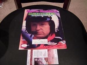 Bill Elliott Nascar Jsa coa Signed Sports Illustrated - Autographed NASCAR Magazines by Sports Memorabilia