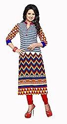 RR Fashion Women's Cotton KURTI (RRF3005_MULTICOLOUR)