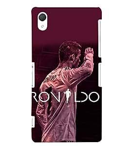 PRINTSHOPPII RONALDO FANS Back Case Cover for Sony Xperia Z2::Sony Xperia Z2 L50W D6502 D6503