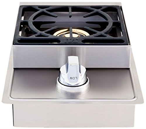 Great Lion Premium Grills L5631 Natural Gas Single Side Burner, 20-1/2 by 12-1/2-Inch