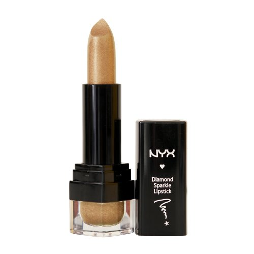 NYX Cosmetics Diamond Sparkle Lipstick Gold