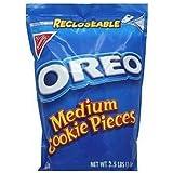 Nabisco Oreo, Medium Cookie Pieces, 2.5 lbs. Resealable Bag (Individual)