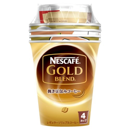 コーヒー ネスカフェ  ゴールドブレンド カップコーヒー 4カップ×6個