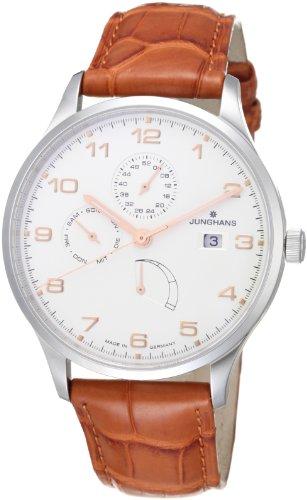 Junghans Uhren Attaché Agenda 027/4761.00 - Reloj para hombres, correa de cuero color marrón