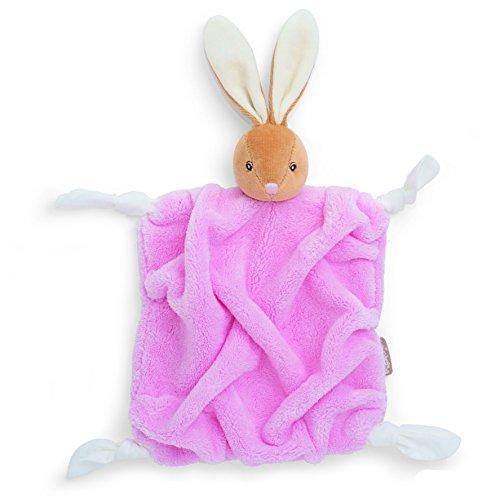 Kaloo - Plume Coniglio Rosa - Bambino  Coperta Sicurezza